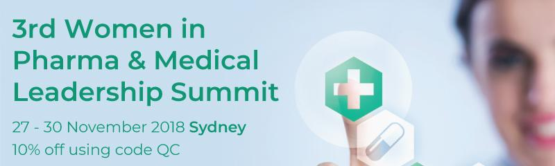 3rd Women in Pharma & Medical Leadership Summit